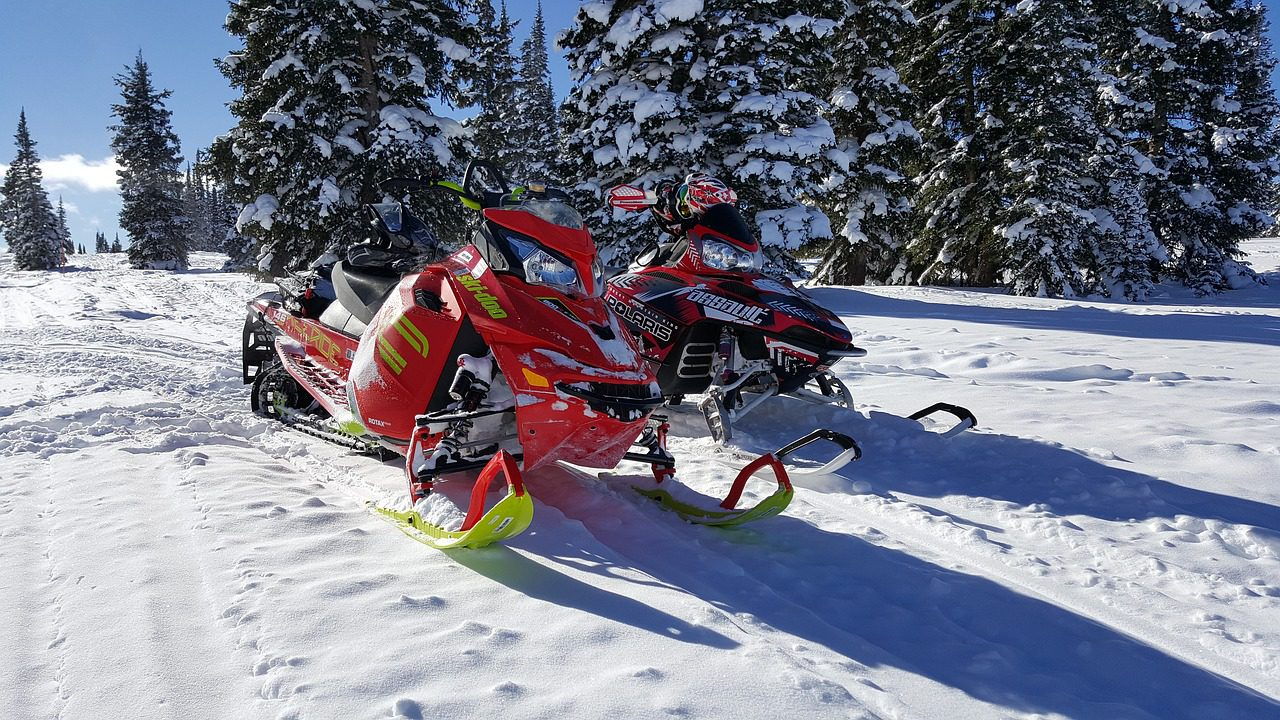 White Cloud Snowmobile Area